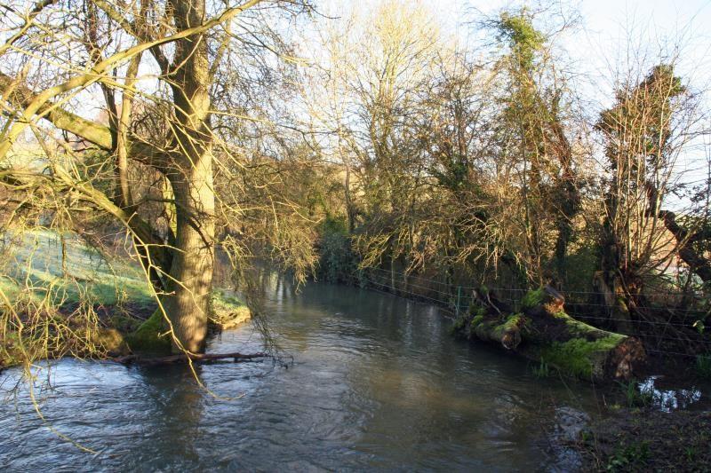 River Meon in spate_26775