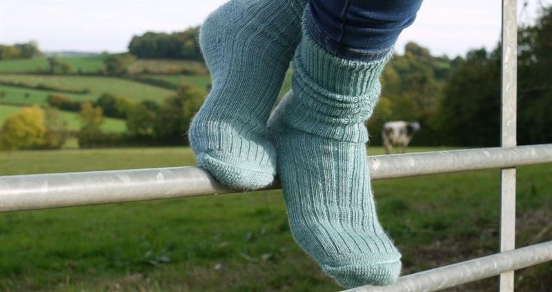 Mohair socks_74982