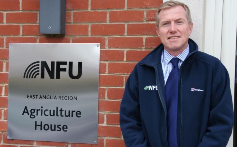 NFU Norfolk county adviser John Newton_34080