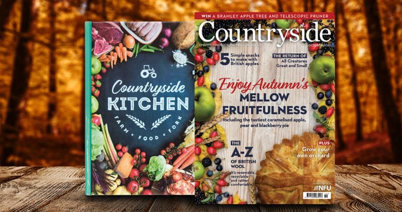 Countryside October front cover and recipe book _74925