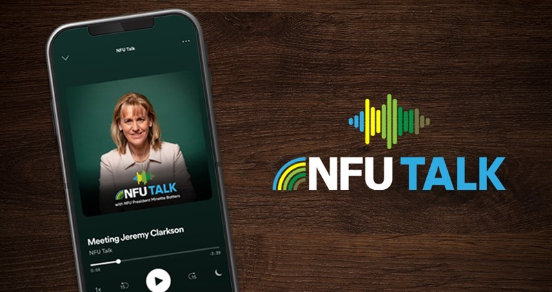 Your five-minute listen with the NFU President: now available as a podcast