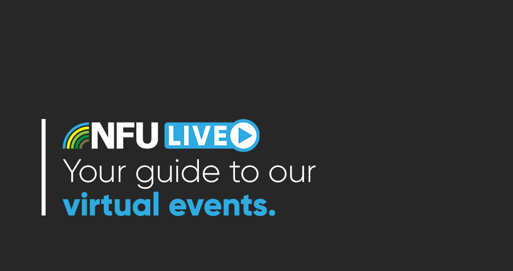 NFU Live: Your guide to the NFU's programme of autumn events
