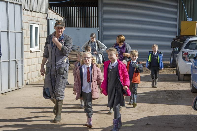 Farmvention winners visit to Wigginton Fields Farm March 2019_62848