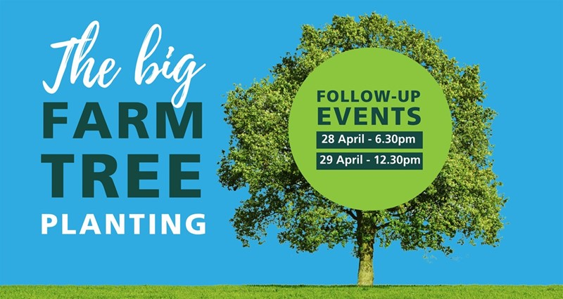 Book now for Big Farm Tree Planting follow-up events