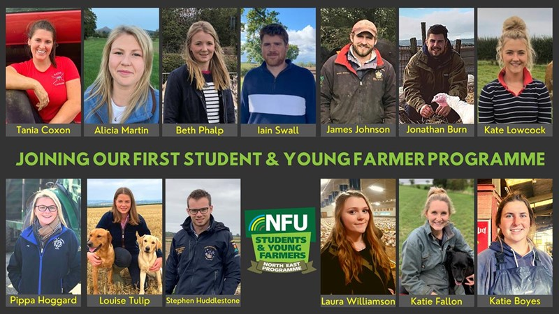 Young farmers join NFU North East Programme