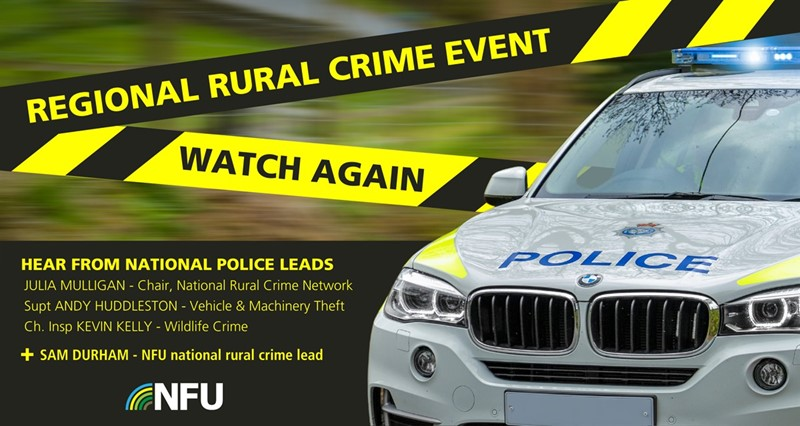 Watch again - North East rural crime event