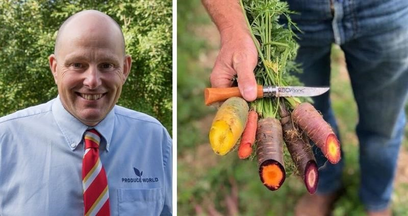 Andrew Burgess and organic carrots_75234