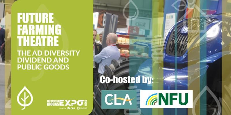 Join the NFU in Future Farming discussions at the World Biogas Expo
