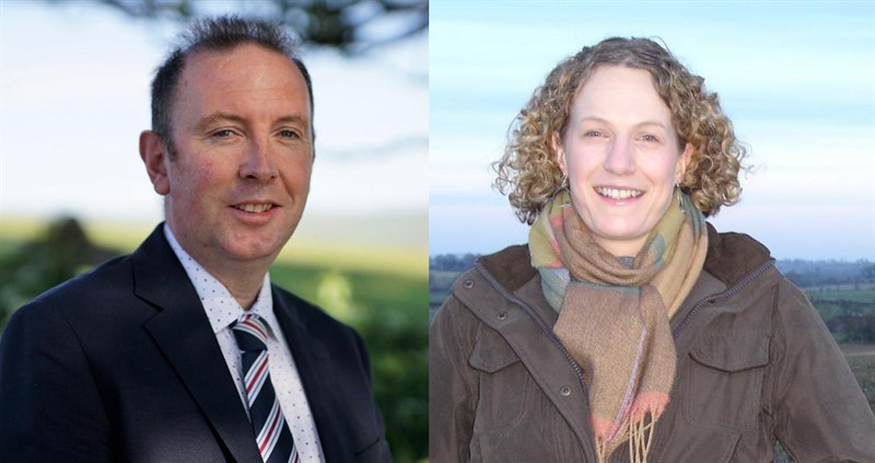 Cumbria county advisers composite, Helen Forrester and James Airey_75916