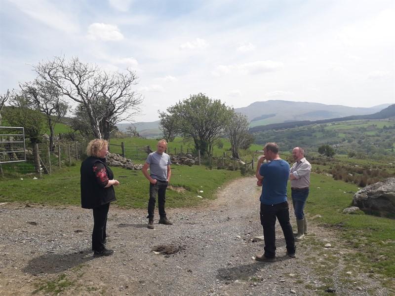 Mabon ap Gwynfor MS, NFU Cymru meeting_78628