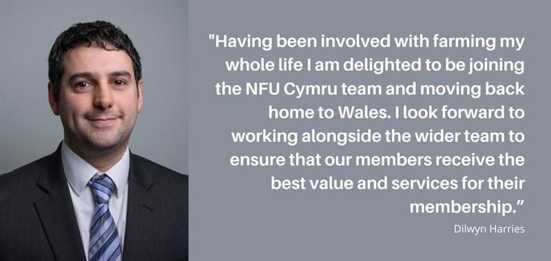 Dilwyn Harries, NFU Cymru Membership Adviser_77942