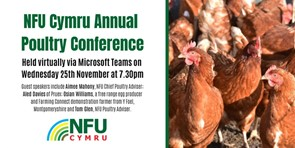 NFU Cymru Annual Poultry Conference 2020