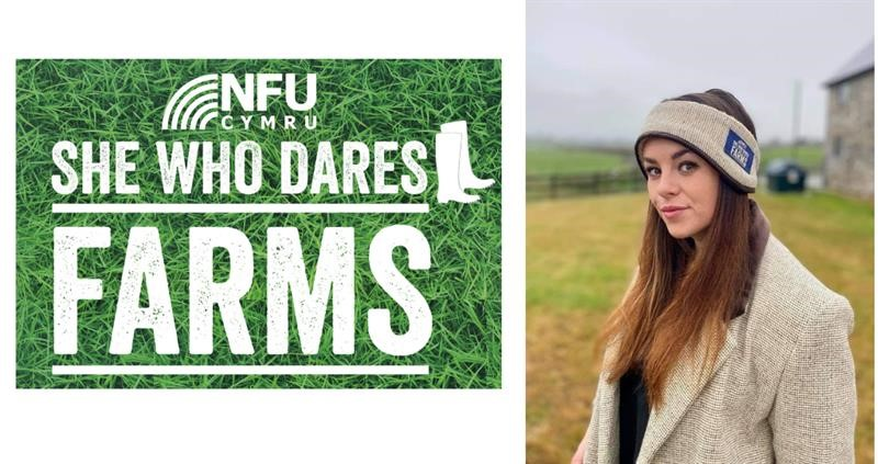 NFU Cymru shows support for Welsh Wool products