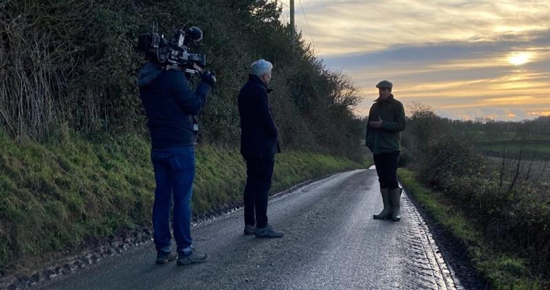 BBC Panorama filming with hertfordshire member Paul Cherry_77341