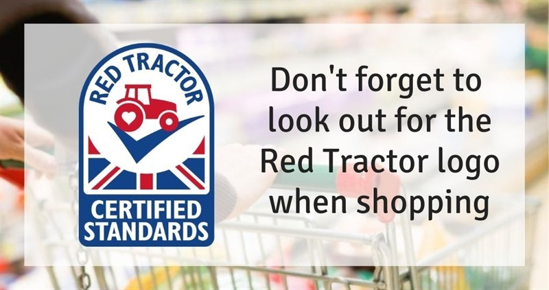 Look out for the Red Tractor_59510