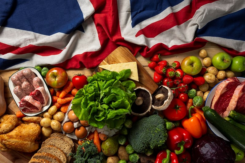 BRITAIN - BRITISH PRODUCE_75471