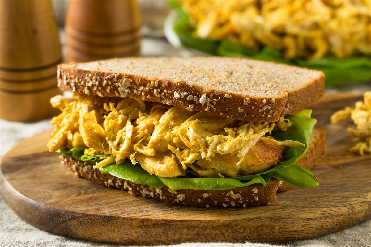 This recipe is a twist on coronation chicken, using turkey instead, ideal for that leftover turkey meat at Christmas.