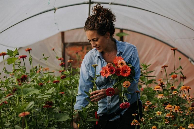 Barbara van Teeffelen - keythorpe walled garden barbara - credit shoot it momma_79975