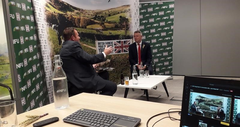 Stuart Roberts in conversation with Luke Pollard. Labour Party Conference Fringe Event 2020_74935