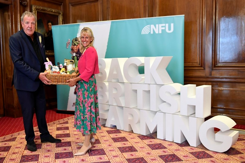 NFU media coverage: #BackBritishFarming Day 2021