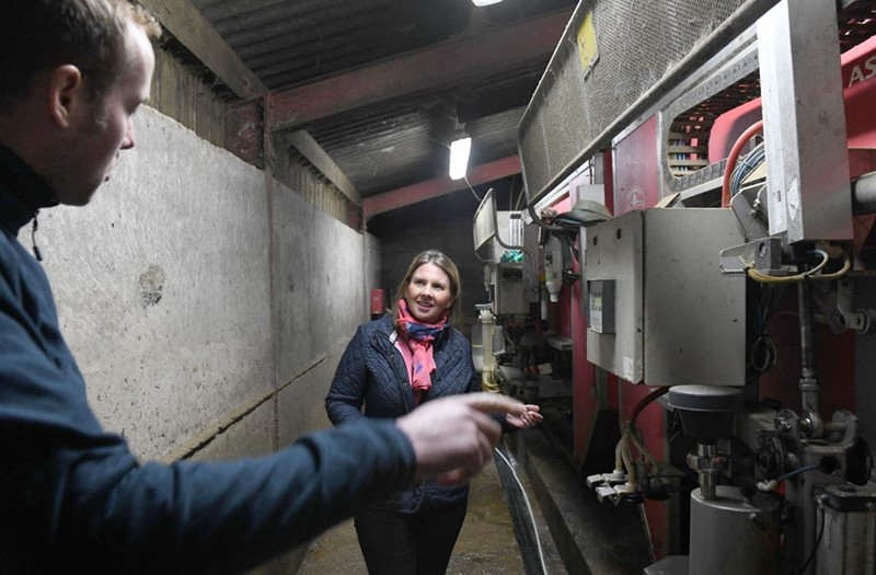 Trudy Harrison farm visit_76403