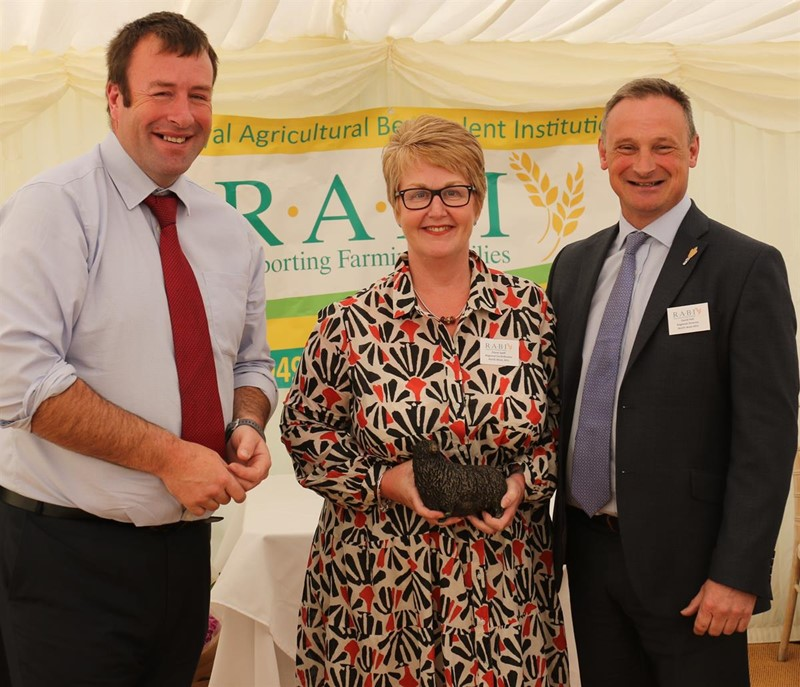 NFU Vice-President Stuart Roberts with NFU North West's Diane Swift & David Hall (regional director)_74907