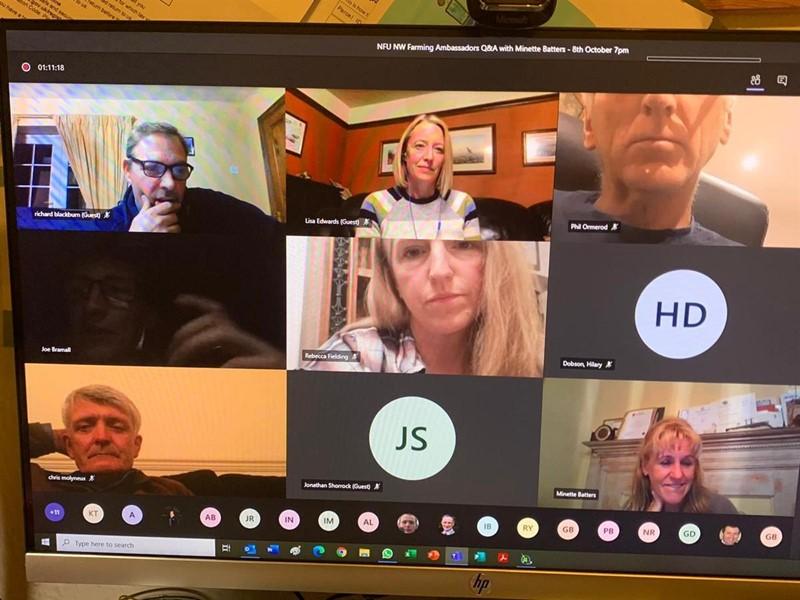 North West Ambassador meeting via Microsoft Teams_75222