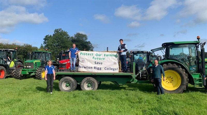 NFU President joins the fight to save Newton Rigg
