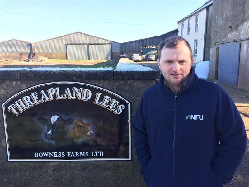 Cumbria News - County Chairman Ian Bowness