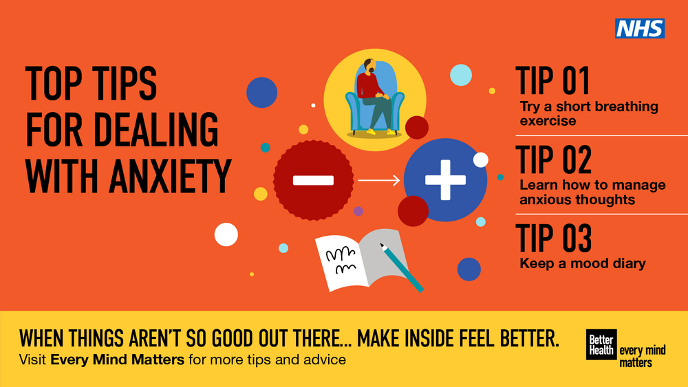 Explore these guides from Public Health England's new  Better Health - Every Mind Matters campaign