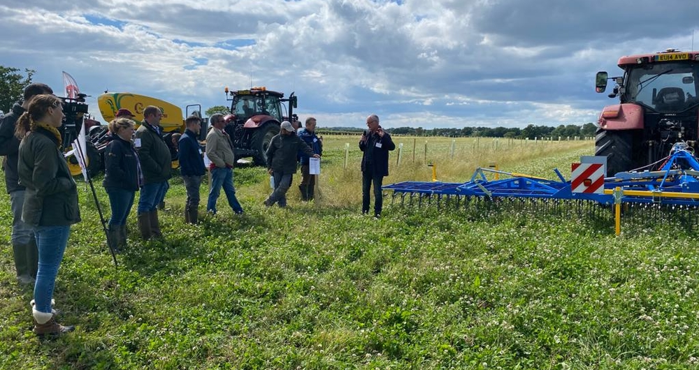 Insights from the 2021 National Organic Combinable Crops conference
