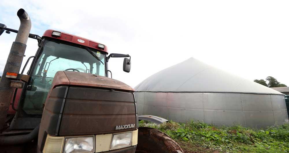 Anaerobic Digestion at Joel Beckett's farm