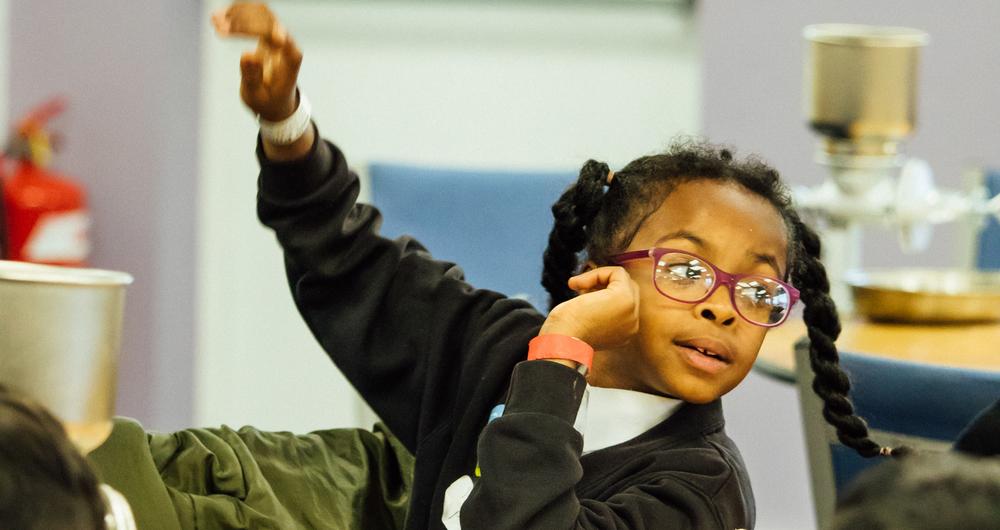 NFU Education visit inner city primary school in Derby