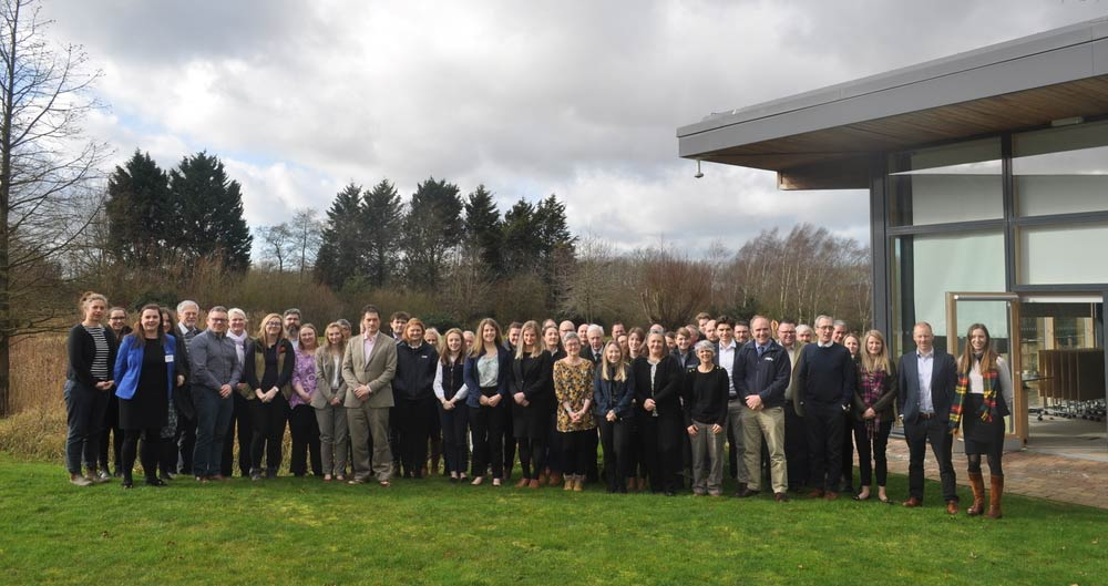 A large group of poultry industry and academic delegates join at NFU HQ for a research seminar