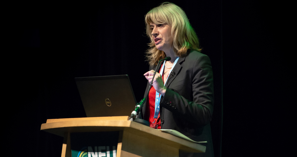 Christine Middlemiss, UK Chief Veterinary Officer, Defra speaking during the animal health session at NFU Conference 2020