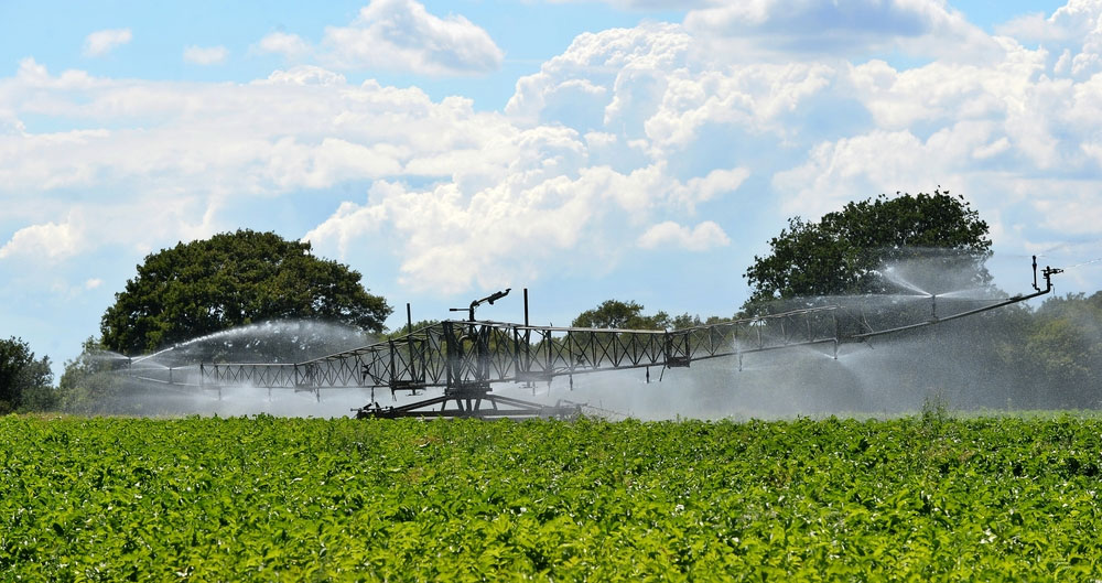 irrigators at Home Farm Nacton