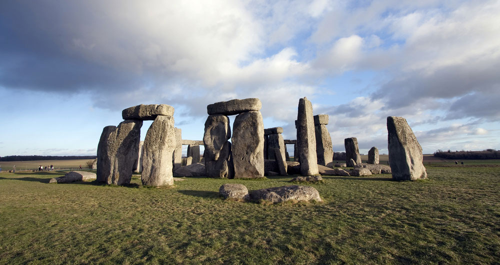 The prehistoric archaeological site of Stonehenge