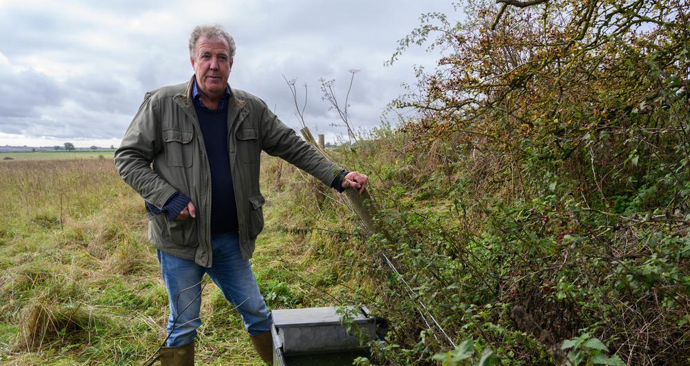 Raising the profile of the NFU on Clarkson's Farm