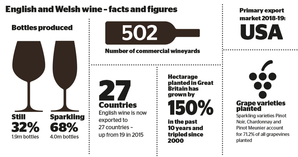 English and welsh wine facts and figures