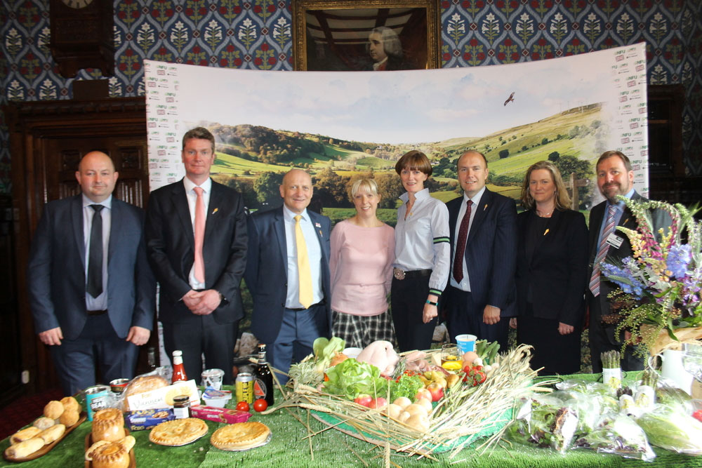 Members with Rob Newbery at the Home-grown Heartland reception in Westminster