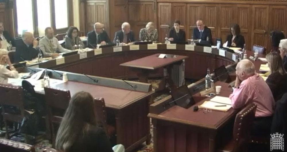 House of Lords 'veggie tubes' debate