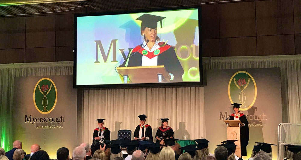 Minette Batters recognised as an Honorary Fellow of Myerscough College