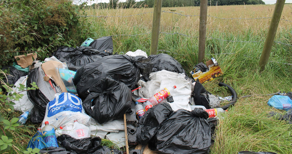 Moves to tackle rural fly-tipping