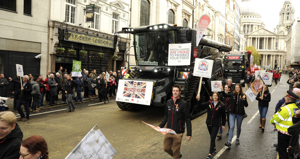 Showcasing the best of British food and farming at the Lord Mayor's Show