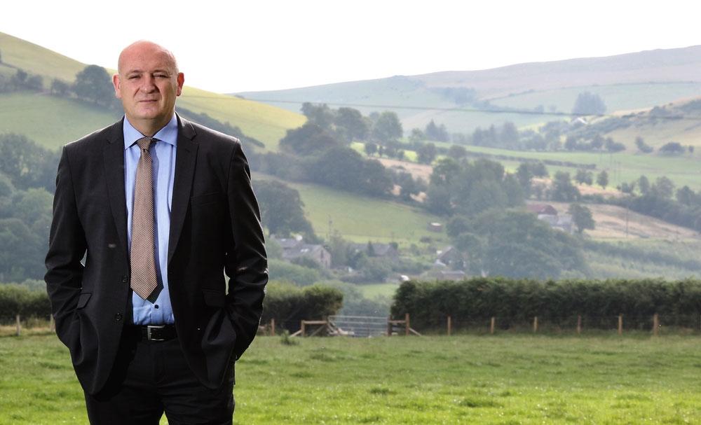 NFU Cymru President John Davies