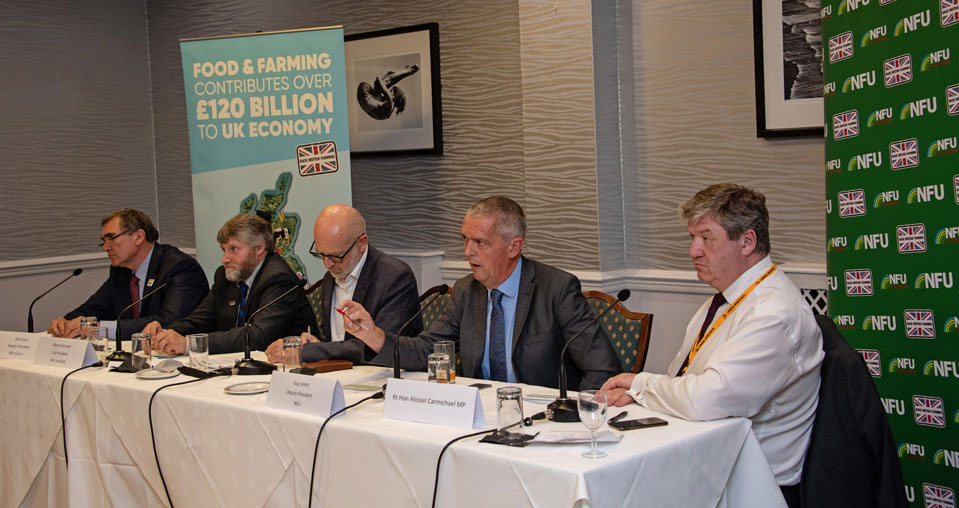 NFU highlights Brexit and day to day farming issues at Lib Dem fringe event