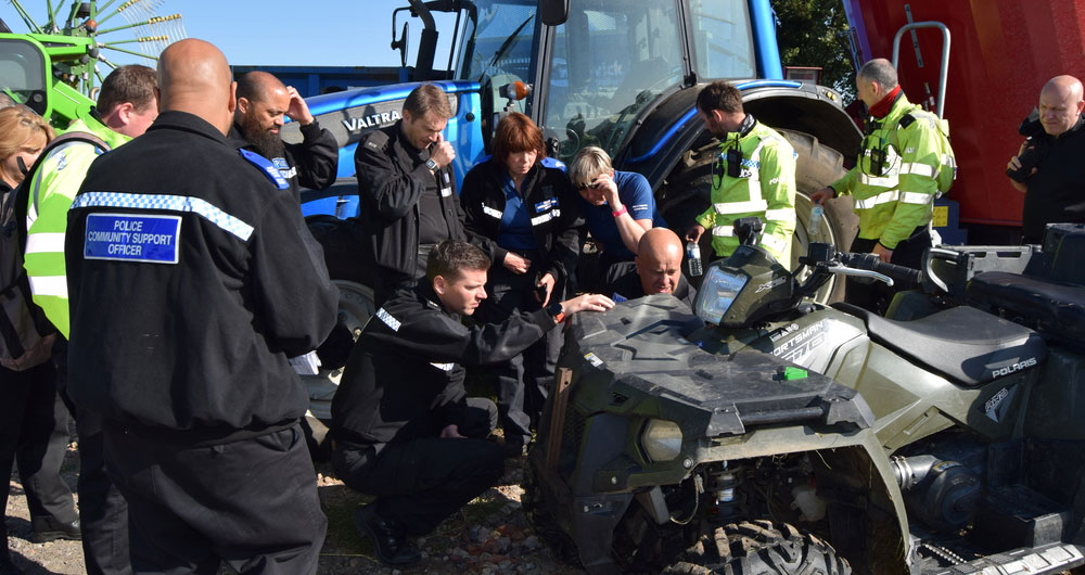 How police officers are trained to tackle rural crime
