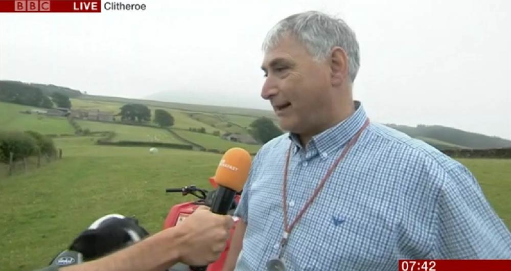 Uplands Forum's Thomas Binns appeared on BBC Breakfast in 2019