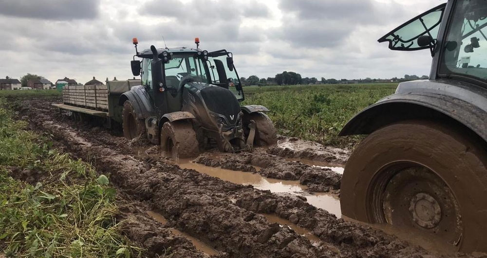 NFU: Wet weather exposes vulnerability of farming businesses