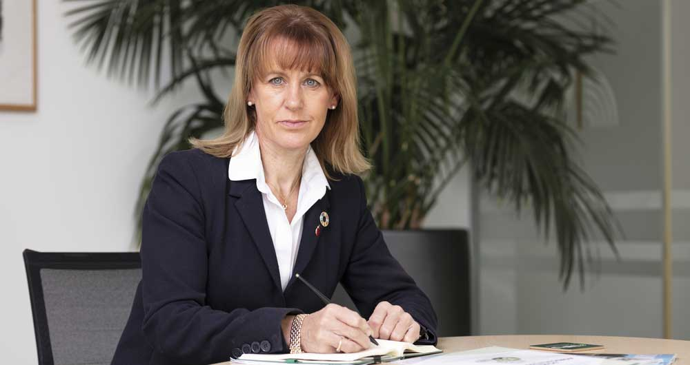 Minette Batters, NFU President, in her office, November 4th 2019